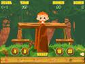 in-game screenshot : Monkey Math Balance (og) - Balance the coconuts!