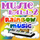 Play Musicball 2: Rainbow Music Game Free