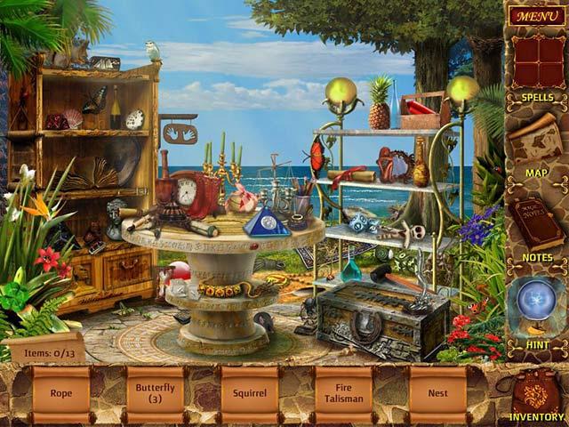 Gra Mysteries of Magic Island Gra Bezpłatne
