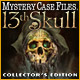 Mystery Case Files ®: 13th Skull  Collector's Edition Game