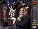 in-game screenshot : Mystery Case Files: Madame Fate (mac) - You be the detective.