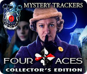 Mystery Trackers: Four Aces Collector's Edition Game Featured Image