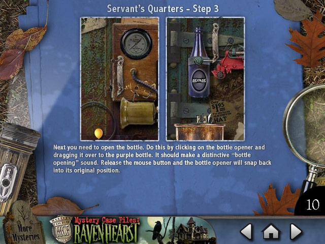 Mystery Case Files Ravenhearst ™: Puzzle Door Strategy Guide Screen Shot 2
