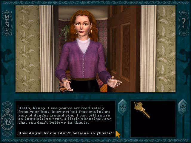 Gra Nancy Drew: Message in a Haunted Mansion Gra Bezpłatne