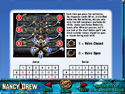 in-game screenshot : Nancy Drew: Ransom of the Seven Ships Strategy Guide (pc) - Dive into danger to rescue your friend!