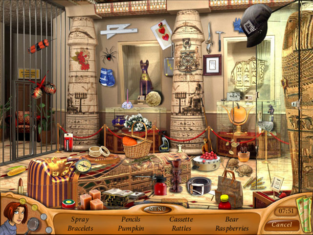 hidden objects game natalie brooks secrets of treasure house
