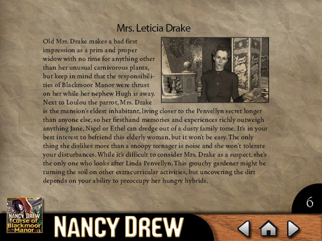 Click To Download Nancy Drew - Curse of Blackmoor Manor Strategy Guide