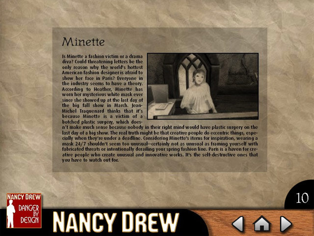 Click To Download Nancy Drew - Danger by Design Strategy Guide