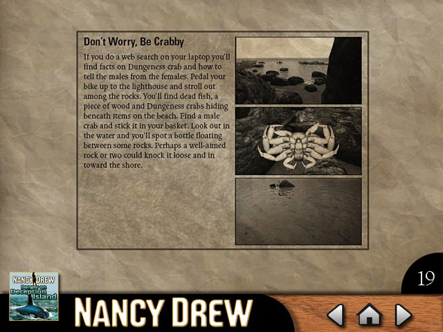 Click To Download Nancy Drew - Danger on Deception Island Strategy Guide