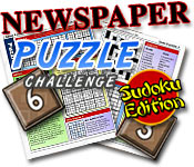 Newspaper Puzzle Challenge - Sudoku Edition Game Featured Image
