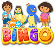 Nick Jr. Bingo Feature Game