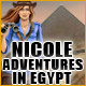 Free online games - game: Nicole Adventures in Egypt