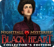 Nightfall Mysteries: Black Heart Collector's Edition Game Featured Image