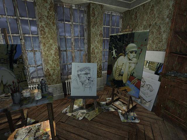Nikopol: Secrets of the Immortals Screenshots