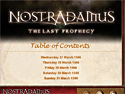in-game screenshot : Nostradamus: The Last Prophecy Strategy Guide (pc) - Get help lifting a murderous curse!