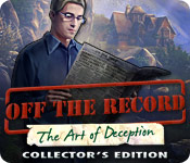 Off The Record: The Art of Deception Collector's Edition Game Featured Image