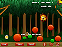in-game screenshot : Online Physics Phrenzy (og) - Guide the monkey to his bananas.