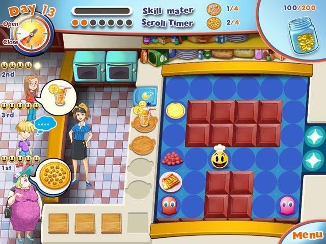 Gra PAC-MAN Pizza Parlor Gra Bezpłatne