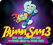 Pajama Sam 3: You Are What You Eat From Your Head to Your Feet Game Featured Image