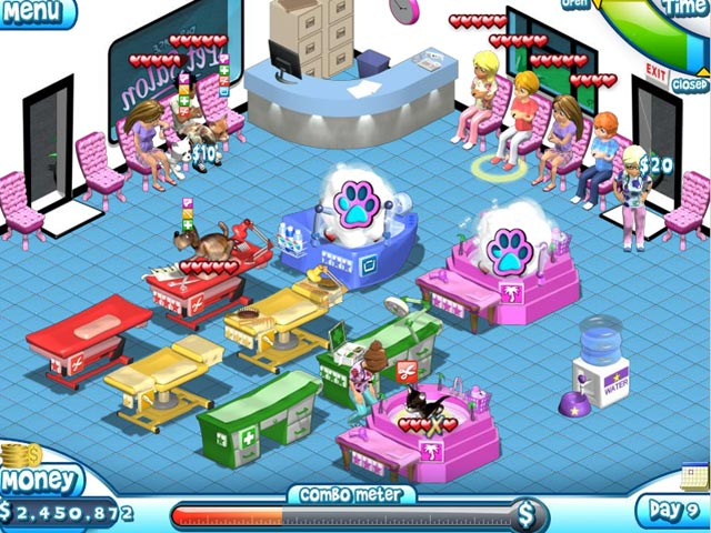 Paradise pet salon game download and play free version for Pet fish games