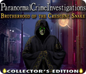 Paranormal Crime Investigations: Brotherhood of the Crescent Snake Collector's E for Mac Game