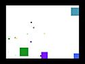 in-game screenshot : Particle Blaster (og) - Blast the shapes into oblivion!