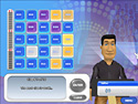 in-game screenshot : Pat Sajak's Linked Letters (pc) - Win prizes like man eating plants.