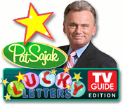 Pat Sajaks Lucky Letters: TV Guide Edition Feature Game