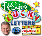 Pat Sajak's Lucky Letters feature