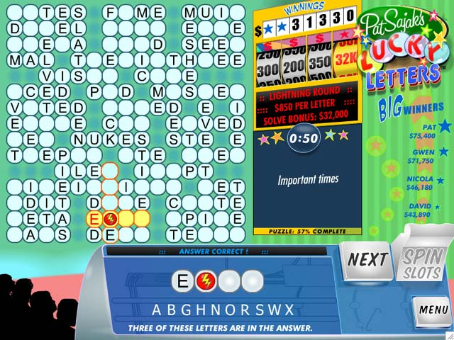 Pat Sajak's Lucky Letters Screenshot http://games.bigfishgames.com/en_patsajaksluckylett/screen2.jpg