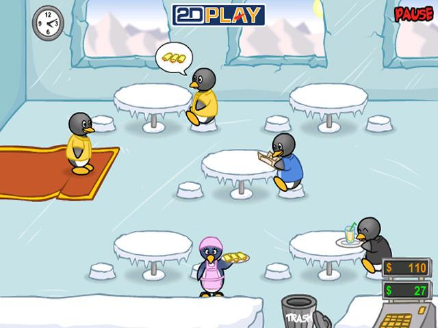 penguin diner big fish free online games