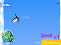 in-game screenshot : Penguin Sky-Jump (og) - Take to the air in Penguin Sky-Jump!