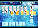 Screenshot: Penguin Solitaire Game