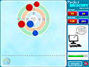in-game screenshot : Perfect Ricochet (og) - Curling, without the ice and brooms.
