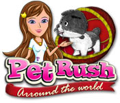 Pet Rush: Arround the World Game Featured Image