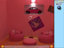 in-game screenshot : Pink Room Escape (og) - Escape from the Pink Room!
