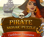 Pirate Mosaic Puzzle: Caribbean Treasures Game Featured Image