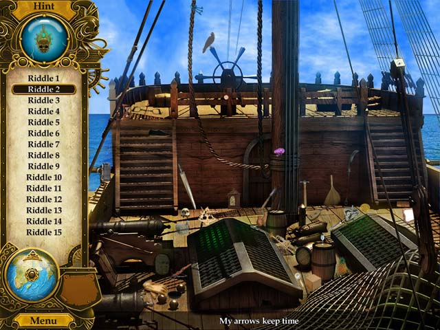 Gra Pirate Mysteries: A Tale of Monkeys, Masks, and Hidden Objects Gra Bezpłatne