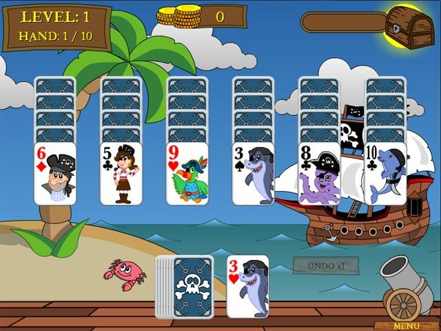 Gra Pirate Solitaire Gra Bezpłatne
