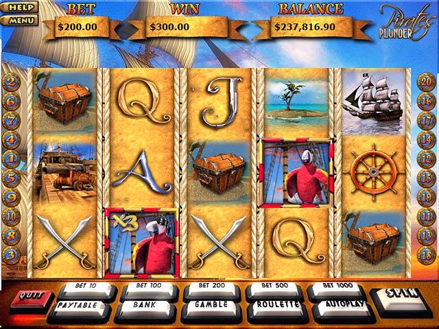 Gra Pirates Plunder Gra Bezpłatne