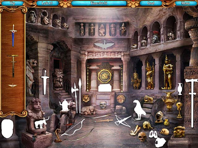 hidden object game pirateville pirate