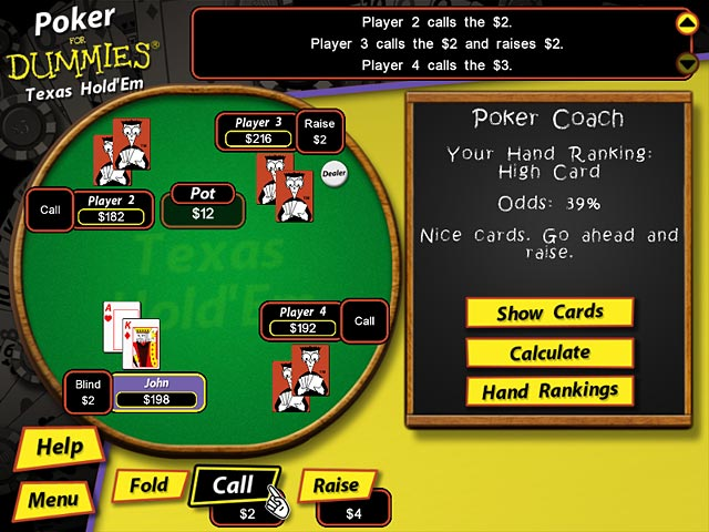 Click To Download Poker for Dummies