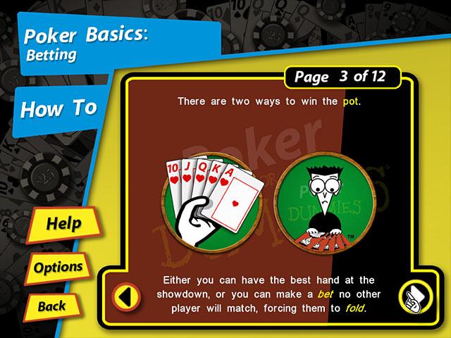 Bezpłatne pobieranie Poker for Dummies