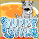 Free online games - game: Puppy Stylin`