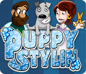 Puppy Stylin` Game Featured Image