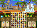 in-game screenshot : Puzzle Hero (pc) - Bust a Match 3 move and defeat monsters.