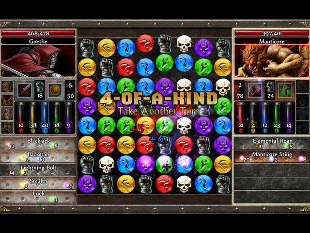 Gra Puzzle Quest 2 Gra Bezpłatne