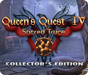 Buy PC games online, download : Queen's Quest IV: Sacred Truce Collector's Edition