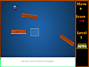 in-game screenshot : Rafter (og) - Bombard bombs with blocks!