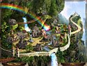 in-game screenshot : Rainbow Web 3 (pc) - Untangle the web and save Rainbow Village!
